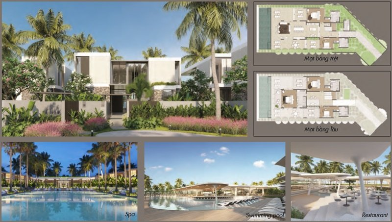 D n vogue resort b i d i cam ranh bi t th condotel for Villas vogue