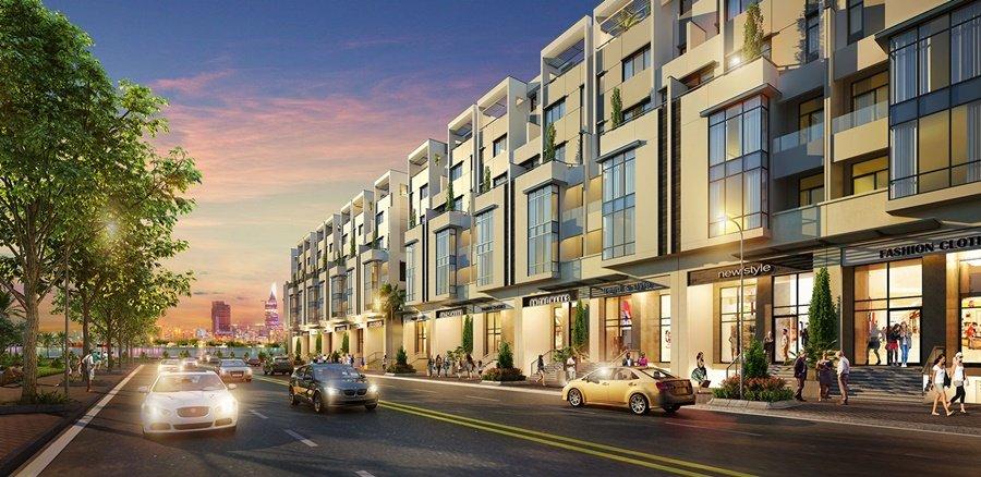 Nhà phố dự án Saigon Mystery Villas