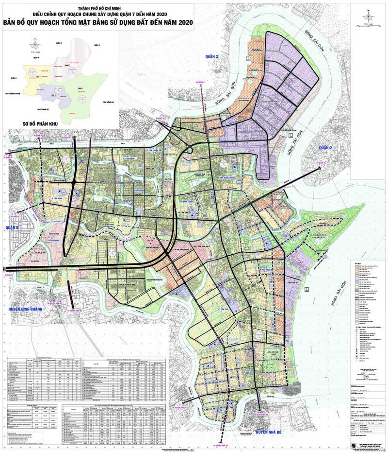 Quy hoạch tổng thể khu đường Đào Trí 40m