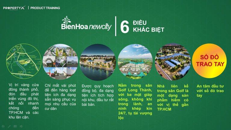 Điểm khác biệt dự án Biên Hòa New City