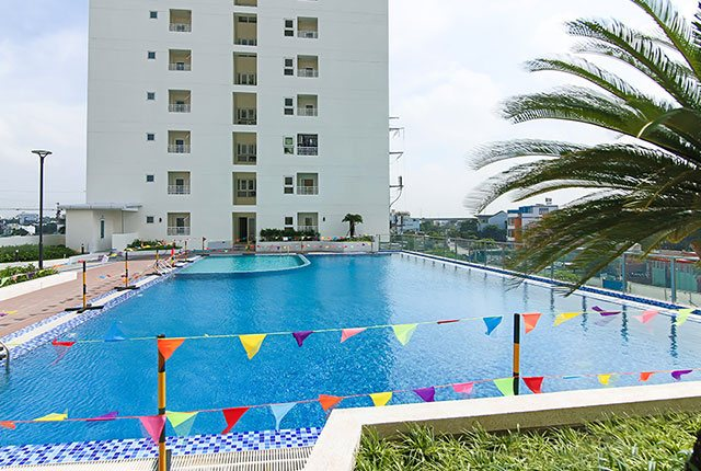 Hình ảnh hồ bơi của tòa nhà
