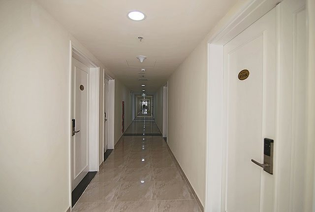 Hình ảnh khu vực hành lang căn hộ