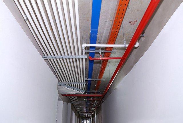 Lắp đặt hệ thống M&E tầng 23 block Northern