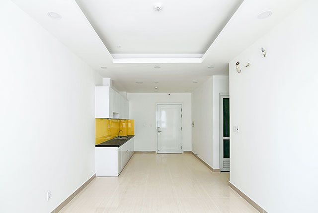 Sơn nước hoàn thiện căn hộ tầng 18 block A, B