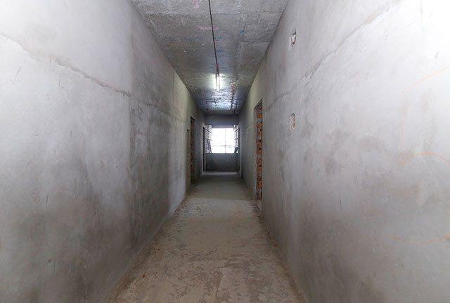 Tô tường hành lang căn hộ từ tầng 6 đến tầng 9 block Glory
