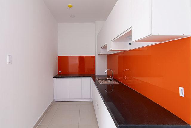 Hoàn thành lắp đặt tủ bếp căn hộ Block A, B, C