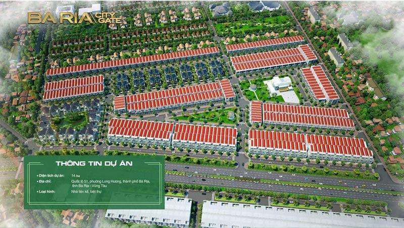 Tổng quan dự án Bà Rịa City Gate
