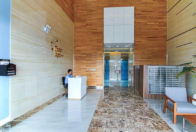 Hình ảnh khu vực sảnh đón khách block A, B