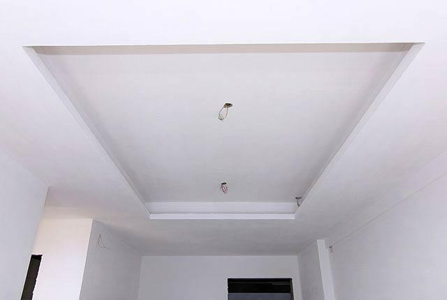 Hoàn thành thi công khung trần thạch cao tầng 6 - 25 block Central