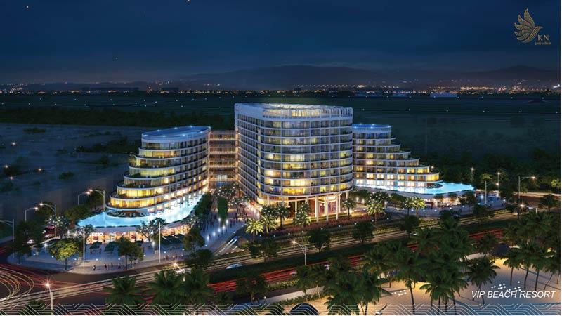 Khu VIP Beach Resort KN Paradise