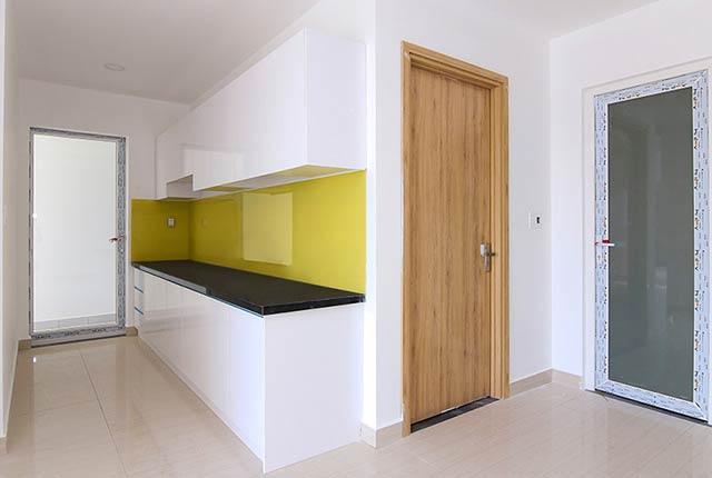 Lắp đặt tủ bếp căn hộ tầng 5 - 16 block B