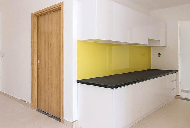 Lắp đặt tủ bếp căn hộ tầng 5 - 16 block A