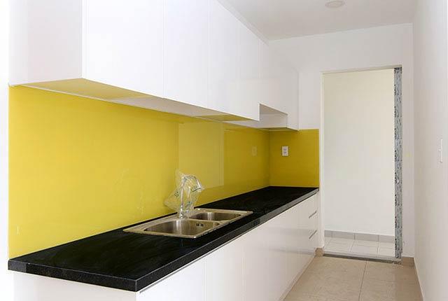 Lắp đặt tủ bếp căn hộ tầng 5 - 20 block A