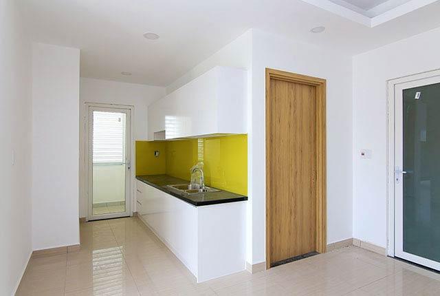 Lắp đặt tủ bếp căn hộ tầng 5 - 20 block B