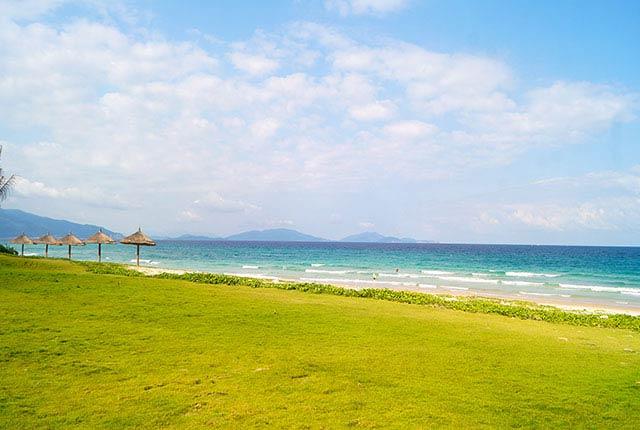 Hình ảnh khu cảnh quan dọc bờ biển