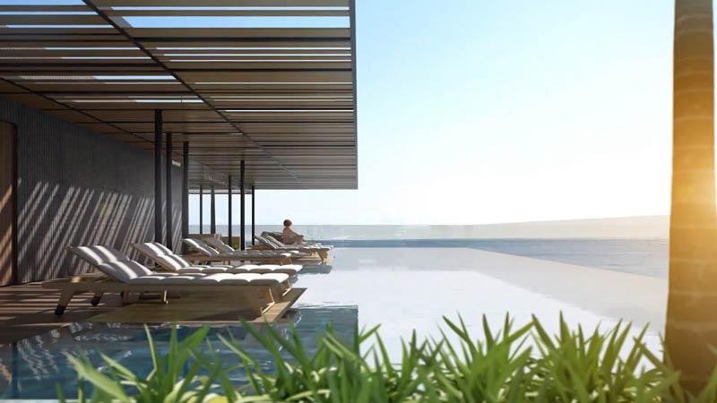 Khu hồ bơi Liberty Central Quy Nhơn Beach