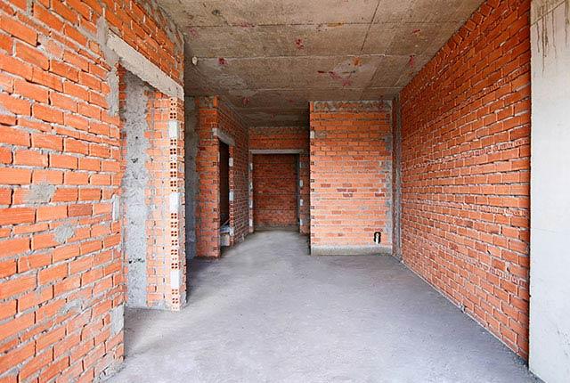 Công tác thi công xây tường tầng 20 block C
