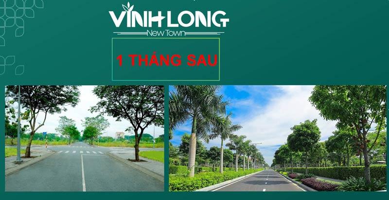 Vĩnh Long New Town sau 1 tháng sau