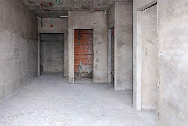 Công tác thi công tô tường căn hộ tầng 9 block C