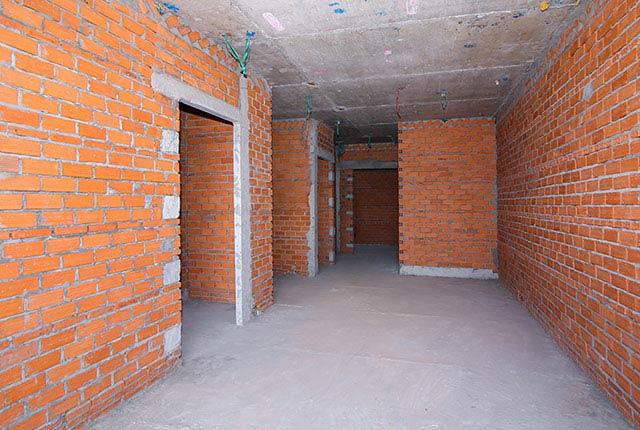 Xây tường bao căn hộ từ tầng 5 đến tầng 24 block Glory