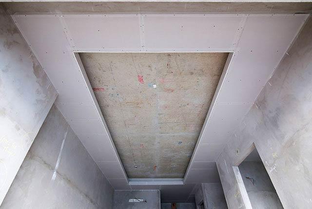Đóng trần thạch cao từ tầng 5 đến tầng 14 block Glory
