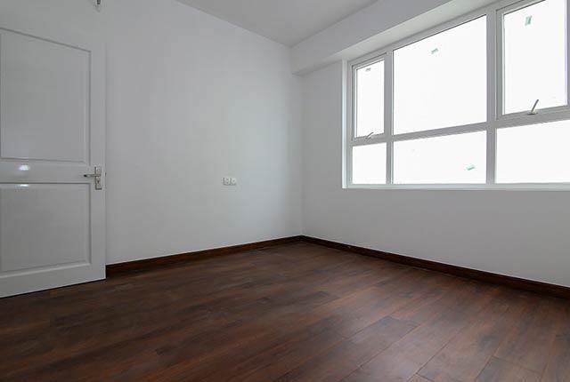 Ốp sàn gỗ phòng ngủ căn hộ tầng 7 - 8 block Central
