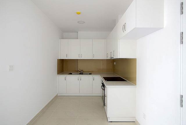 Lắp đặt thiết bị bếp căn hộ tầng 5 - 21 block Northern