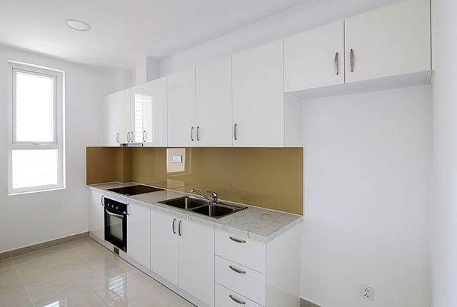 Lắp đặt thiết bị bếp căn hộ tầng 5 - 21 block Southern