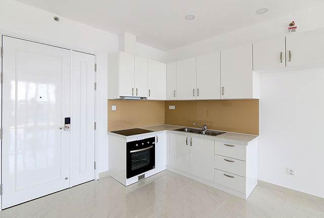 Lắp đặt thiết bị bếp căn hộ tầng 5 - 21 block Central