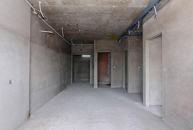 Công tác thi công tô tường căn hộ tầng 13 block C