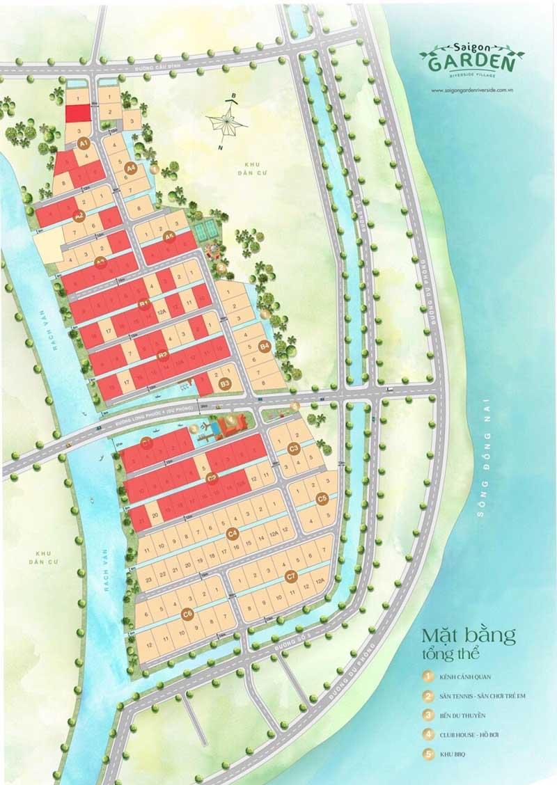 Cập nhật sản phẩm Sài Gòn Garden Quận 9 - Màu đỏ đã bán