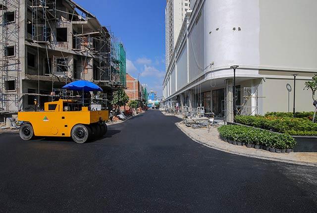 Công tác thi công đường nội khu