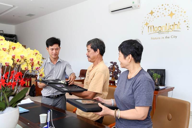 Hình ảnh bàn giao căn hộ Moonlight Residences