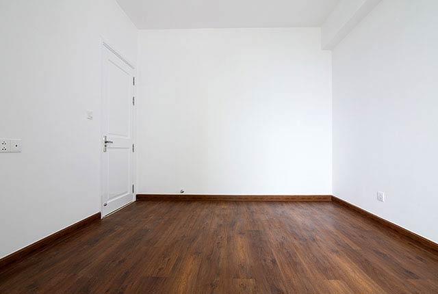 Lát sàn gỗ phòng ngủ căn hộ tầng 5 - 20 block Northern