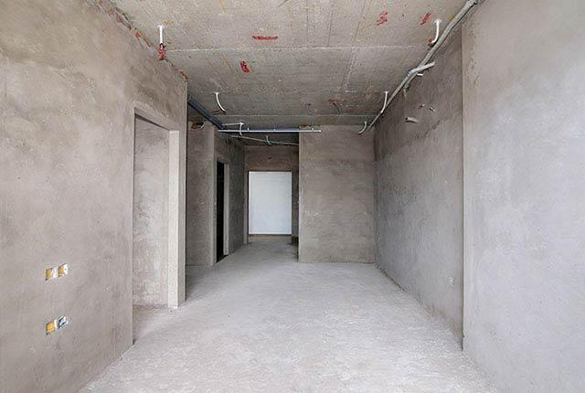 Công tác thi công tô tường căn hộ tầng 17 block C