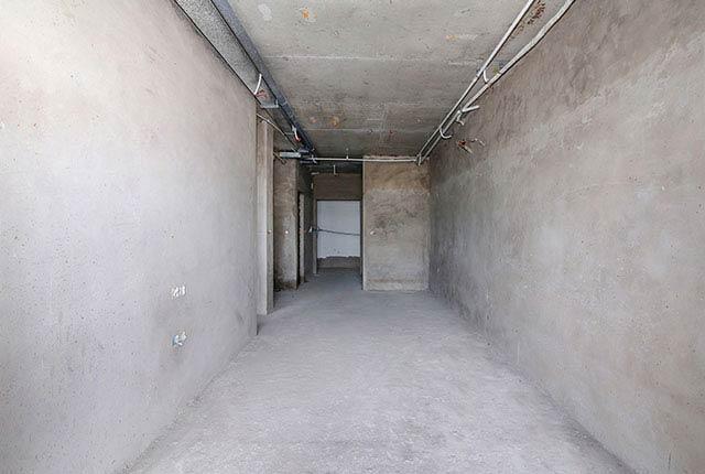 Công tác thi công tô tường căn hộ tầng 17 block A
