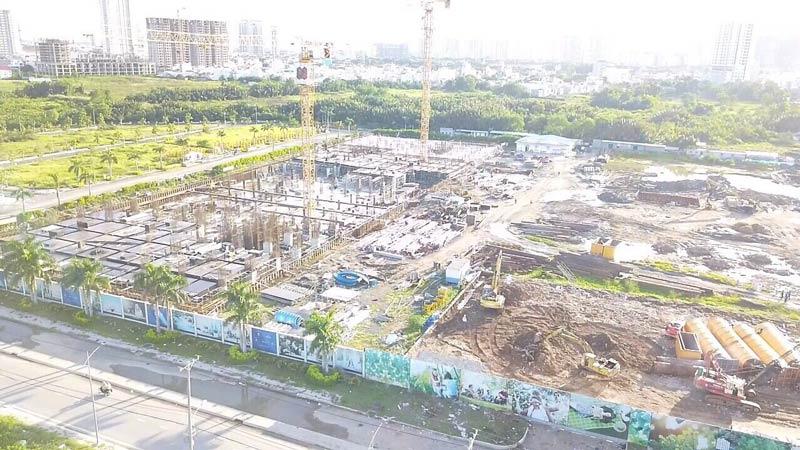 Hình ảnh thi công căn hộ Q7 Saigon Riverside