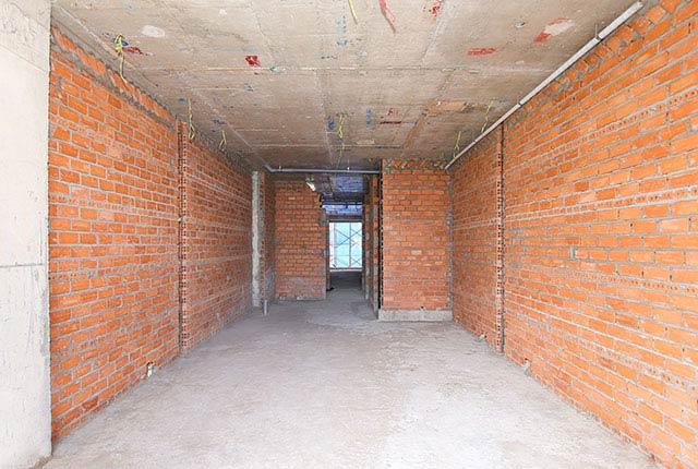 Xây tường bao căn hộ từ tầng 5 đến tầng 16 block Lucky