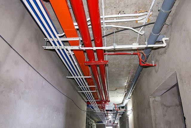 Hoàn thành lắp đặt M&E từ tầng 5 đến tầng 24 block Glory