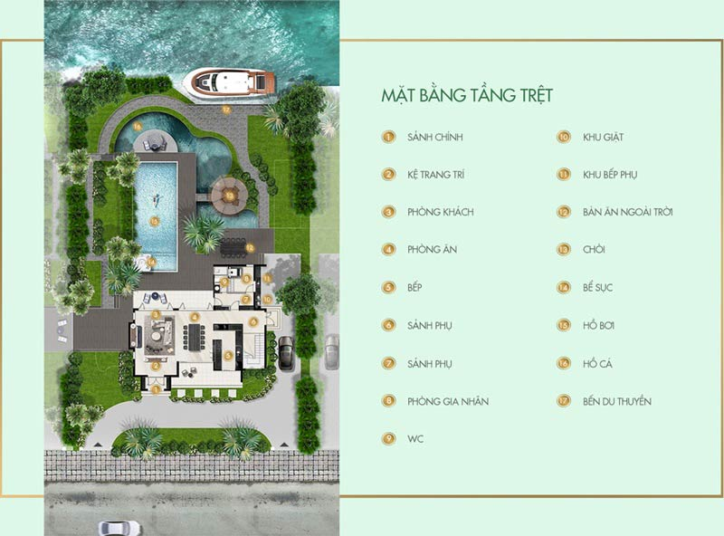 Thiết kế biệt thự Saigon Garden Riverside Village