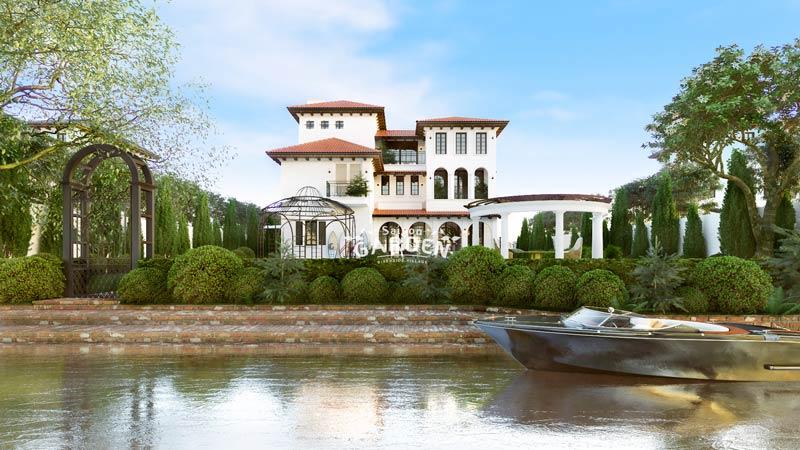 Mẫu thiết kế biệ thự vườn Saigon Garden Riverside