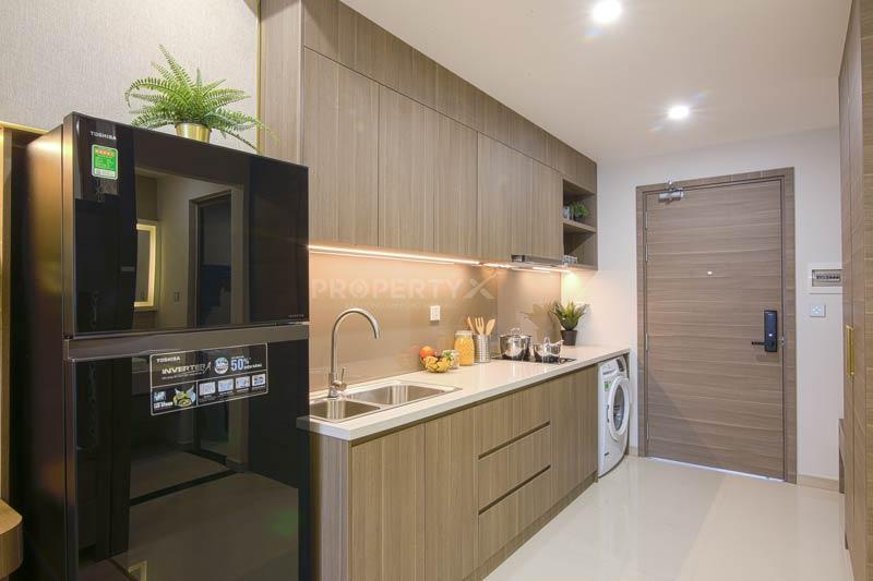 Phòng bếp nhà mẫu Quy Nhơn Melody