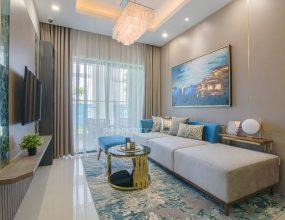 Phòng khách nhà mẫu Quy Nhơn Melody