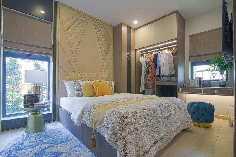 Phòng ngủ nhà mẫu Quy Nhơn Melody