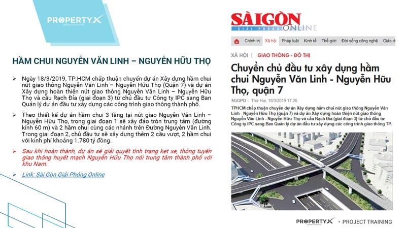 Quy hoạch cơ sở hạ tầng khu Nam Sài Gòn