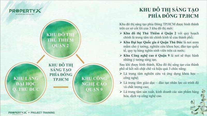 Tiềm năng về bất động sản khu Đông Sài Gòn