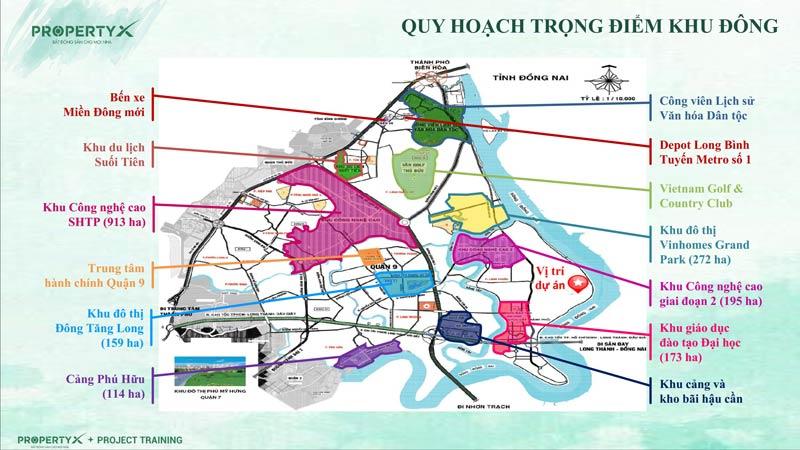 Quy hoạch khu Đông Sài Gòn