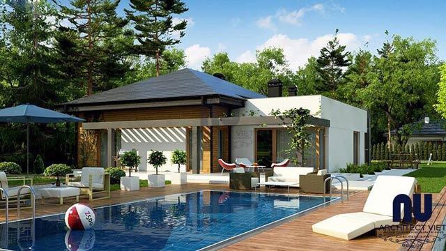 Phối cảnh nhà vườn Hưng Thịnh Việt Trang Quận 9
