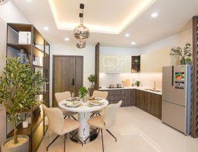 Phòng bếp và phòng ăn căn hộ Q7 Boulevard