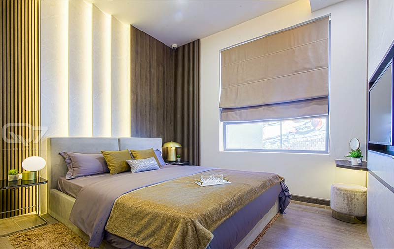 Phòng ngủ căn hộ Q7 Boulevard